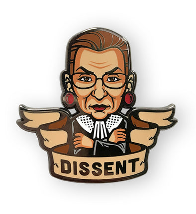 RBG Dissent Benefit Pin