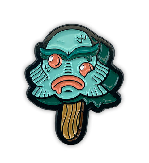 Ice Scream Creature Soft Enamel Pin