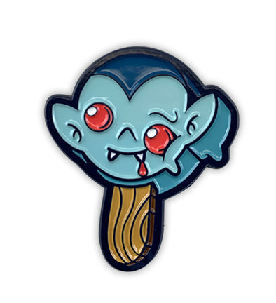 Ice Scream Dracula Soft Enamel Pin