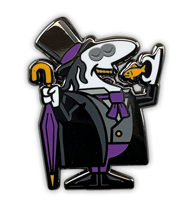 Little Penguins Black Nickel Pin