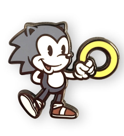 Vintage Sonic Pin Harebrained