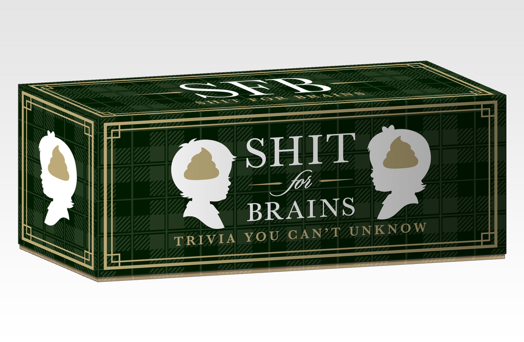 Shit For Brains Trivia Game