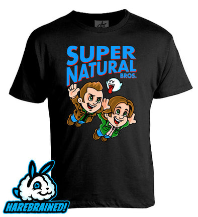 Super Natural Bros Tee