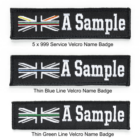 Velcro Name Badge Examples