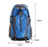 40L Waterproof Outdoor Camping Hiking Travel Large Backpack Rucksack Bag