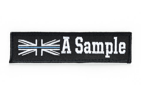 Personalised Police Velcro Name Badges