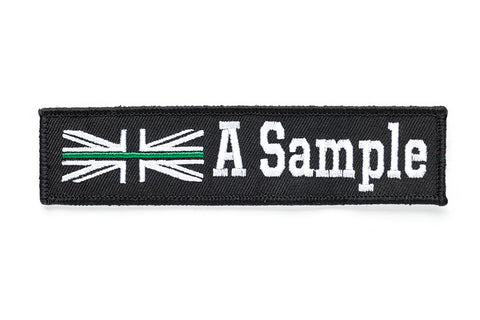 Personalised Medic Velcro Name Badges