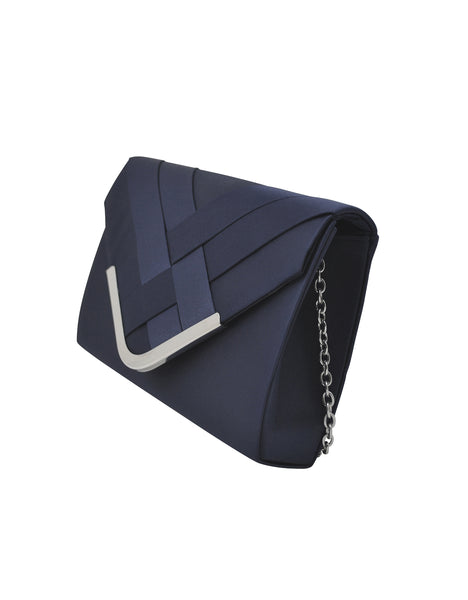 Teagan Criss Cross Pattern Envelope Clutch