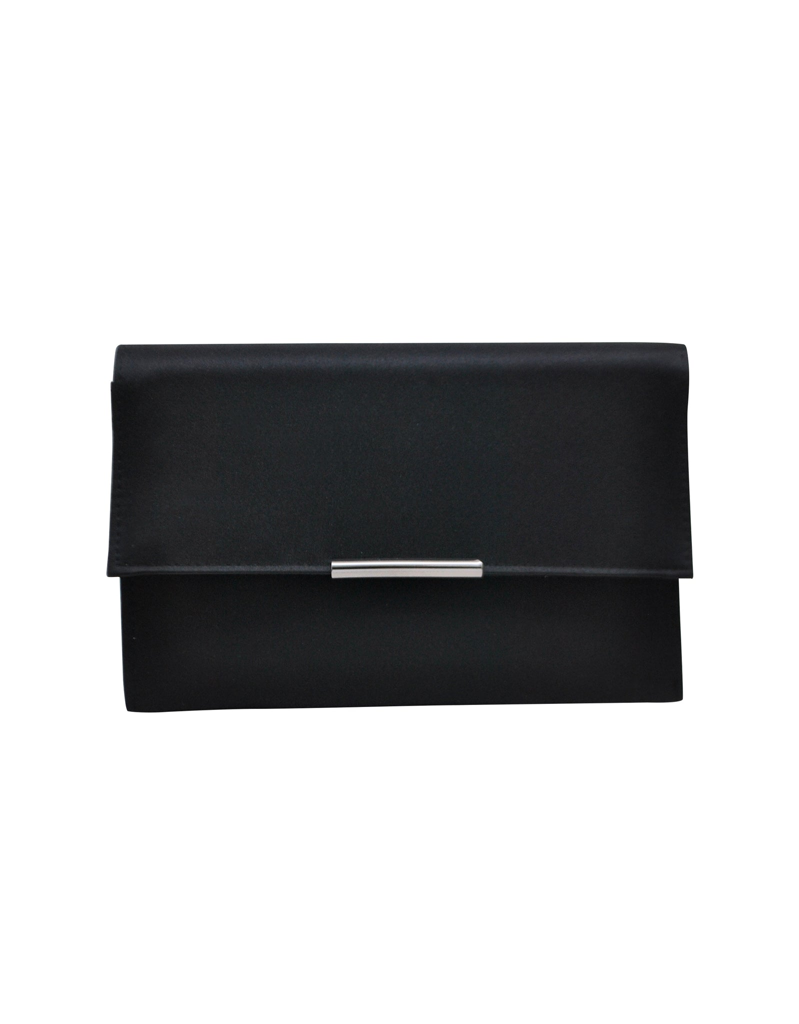 Haisley Satin Compartment Clutch