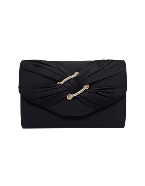 Keily Decorative Flap Clutch