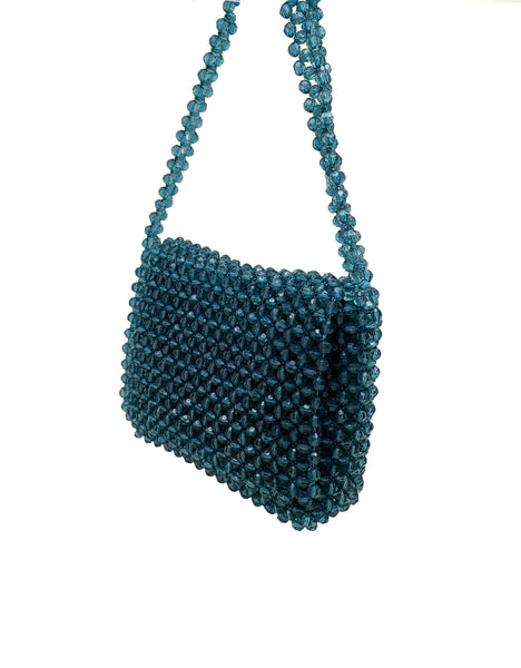 Grace Macramé Bead Cross body