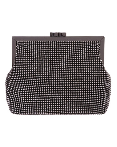Lillian Crystal Mesh Pouch