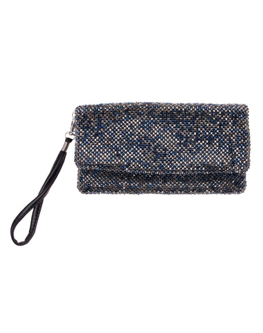 Maya Mix Crystal Wristlet