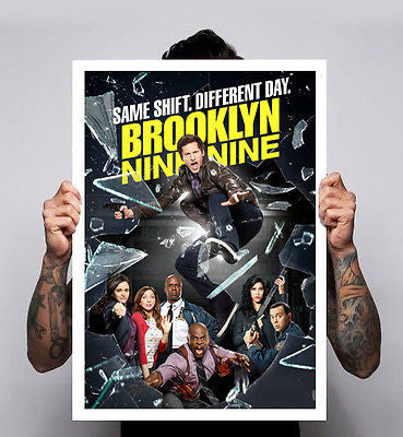 Brooklyn Nine-Nine 99 Tv Show Fox Andy Samberg Terry Crews Poster A1 A2 A3 New