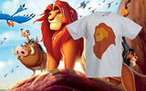Lion King Simba Retro Disney T-Shirt Tee Kids Princess Girls/Boys Ages 1 -13 New
