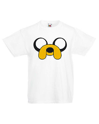 Adventure Time T Shirt Jake the Dog T-Shirt Boys Girls Kids Childrens New
