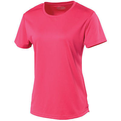 AWDIS Breathable Cool Womens Ladies Running Sport Wicking T Tee T-shirt JC005