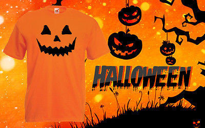 Halloween Cheap T Shirt Pumpkin shirt Top Tee Horror Costume Scary Kids Outfit