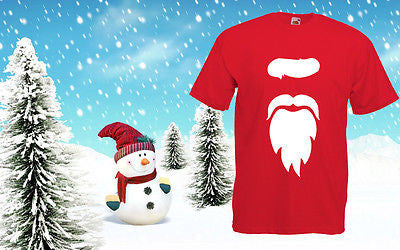 Christmas Cheap T Shirt Santa shirt Top Tee Xmas Costume Festive Kids Outfit New