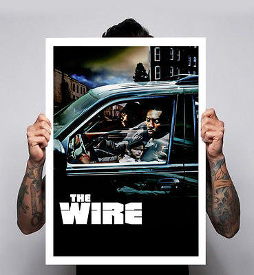 The Wire Tv Show HBO Stringer Bell Omar Avon Film Poster A1 A2
