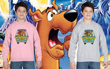 Scooby Doo Tv Movie 80's Film Kids Jumper Sweatshirt Boys Girls Tee New All Size