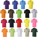 AWDIS Cool Men's Top Polo Shirt T-shirt Wickable Breathable Running sports JC040