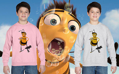 Bee Movie Seinfeld Film Jumper Sweatshirt Kid Princess Girls Boys Ages 1 -13 New