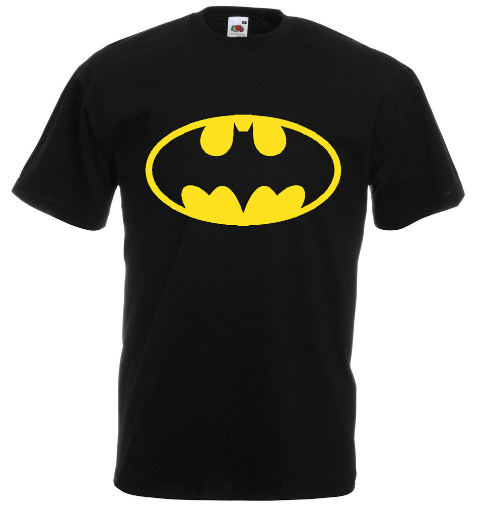 Boys Unisex T-Shirt Tee BATMAN Movie Logo MensTop T Shirt - XS S M L XL XXL New