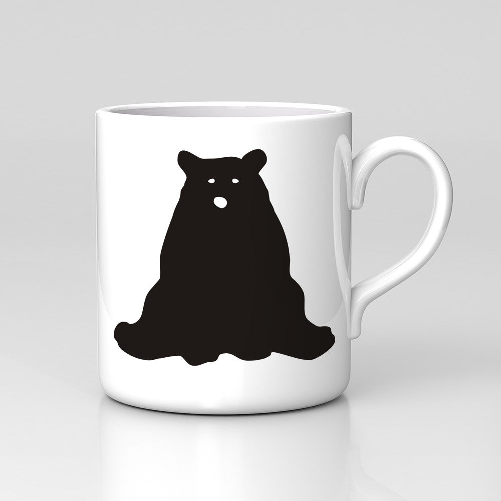 Bear Silhouette Animal Zoo Mug Gift