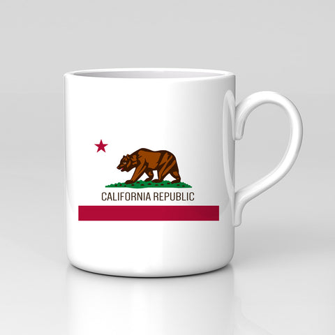 California Republic State Flag San Francisco LA Mug Great Birthday Xmas Gift New