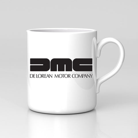 DMC Delorean Motor Company Back to the Future Retro Mug Birthday Xmas Gift New