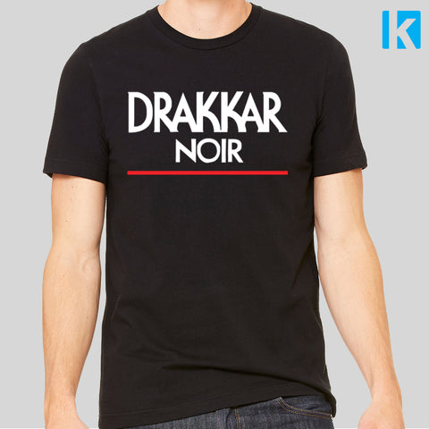 Drake Drakkar Noir Music Fan T-Shirt Unofficial 90s Top Mens Unisex Tee