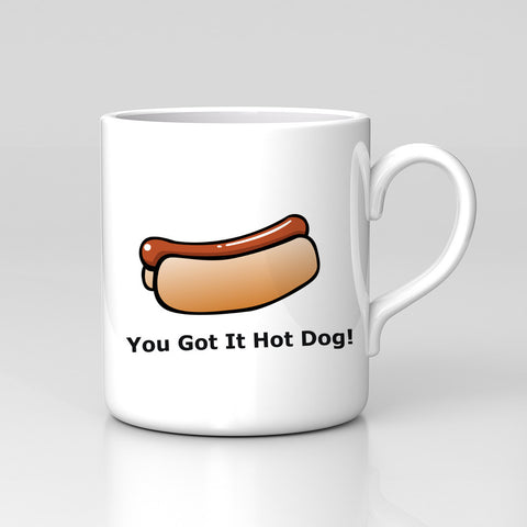 Impractical Jokers Comedy You got it hot dog! Mug Comedy Funny Xmas Gift New