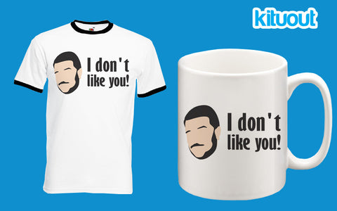Impractical Jokers Sal I Don't Like You Funny T Shirt Ringer Mug Set Xmas Gift New
