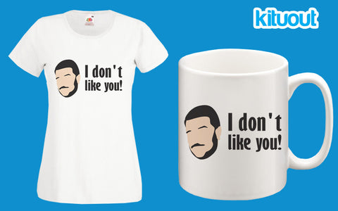 Impractical Jokers Sal I Don't Like You Funny Womens T Shirt Mug Set XS-2XL New