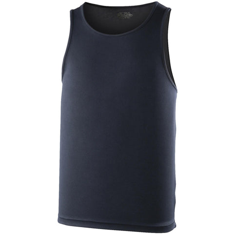 AWDis Just Cool Mens Sports Breathable Training Vest in 15 Colours S - XXL New