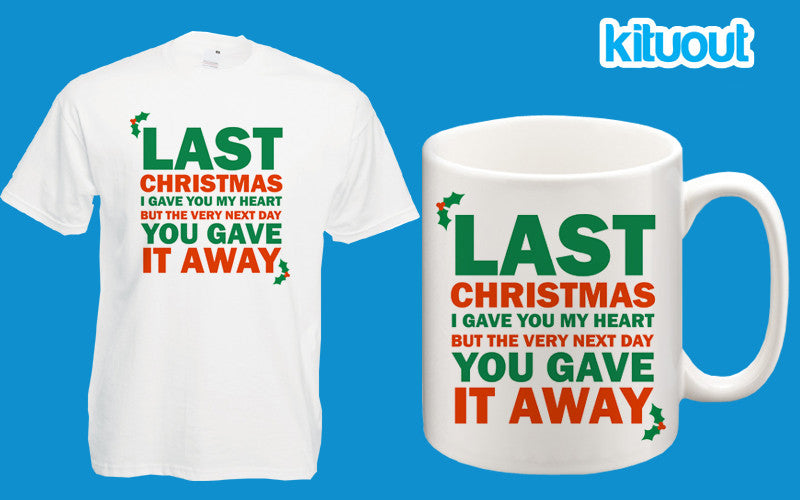 41ad79c2 Last Christmas Wham! Classic Christmas Song T-Shirt Ringer Gift Set Unisex  Tee S 3XL
