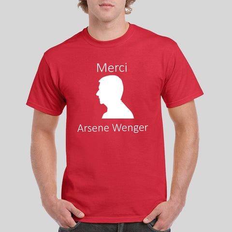 Arsene Wenger Merci Arsenal T-Shirt Tee Top Shirt Thank You for The Memories Invincible 22 Years Tumblr Work Office Gift …