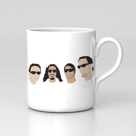 Metallica Lars American Rock Band Music Retro Mug Great Birthday Xmas Gift New
