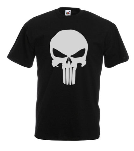 Mens Punisher T Shirt Tee Skull Marvel Comic Unisex Mens Boys Gift New