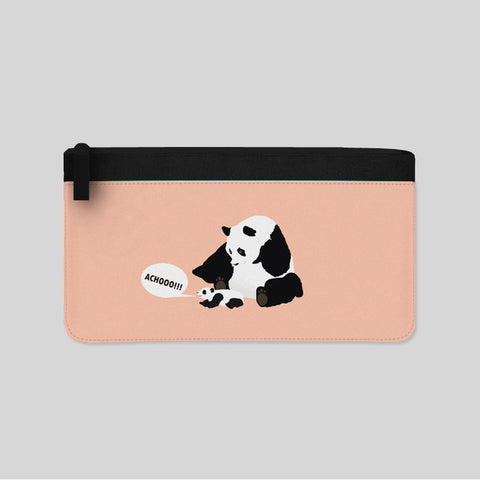 Sneezing Panda Illustration Carry-All Pouch New