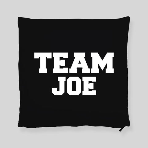 Team Joe Impractical Jokers  Q Joe Murr Faces Throw Pillowcase
