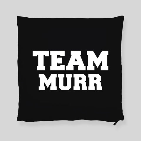 Team Murr Impractical Jokers  Q Joe Murr Faces Throw Pillowcase