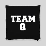Team Q Impractical Jokers  Q Joe Murr Faces Throw Pillowcase
