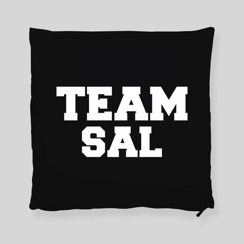 Team Sal Impractical Jokers  Q Joe Murr Faces Throw Pillowcase