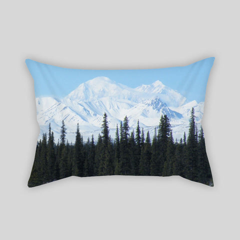 Mountains View Scenery Relax Travel Throw Pillowcase Rectangle Sofa Couch 100% Cotton