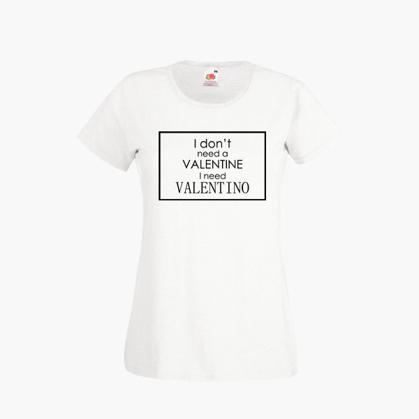 Amy Childs Valentino Valentines Day Cheap T Shirt Top Tee  Romantic Girls Outfit