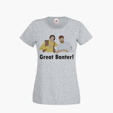 Alan Partridge Mid Morning Matters Fan Art Unofficial T SHIRT Womens Girls S-2XL New