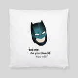 Batman vs Superman Ben Affleck Comic Book Fan Art Throw Pillowcase