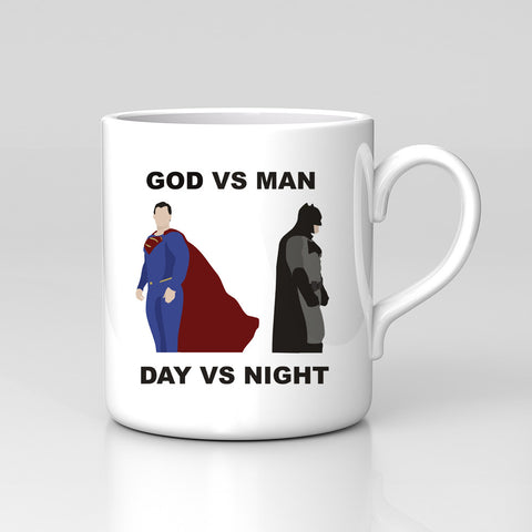 Fan Art Batman V Superman Dawn Of Justice DC God VS Man Mug